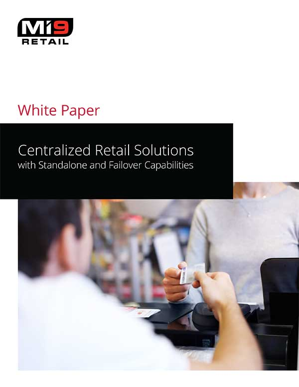 White Paper: Centralized Retail Solutions